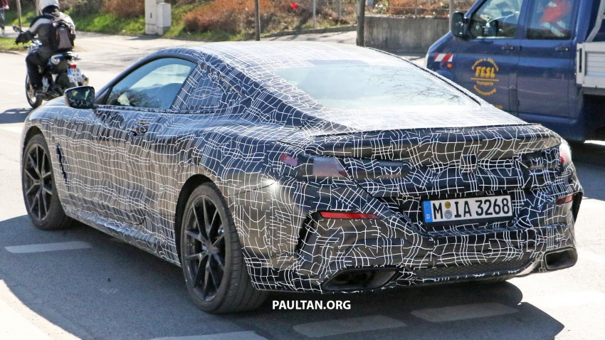 SPIED: BMW 8 Series coupé & cabrio M Sport spotted? Image #803896