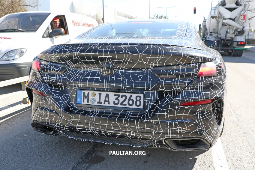 SPIED: BMW 8 Series coupé & cabrio M Sport spotted? Image #803889