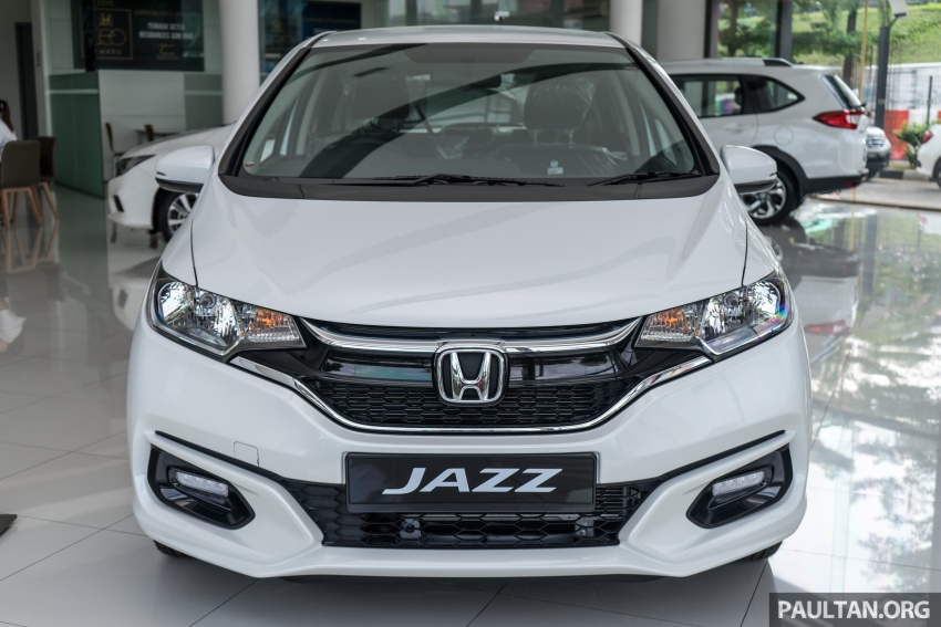 GALLERY: 2018 Honda Jazz, City, BR-V and HR-V in new Orchid White Pearl – replaces Taffeta White Image #802916