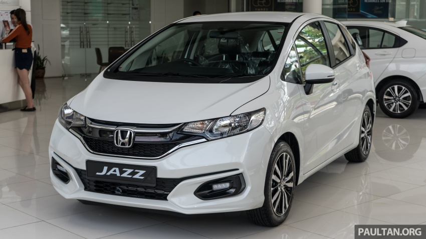 GALLERY: 2018 Honda Jazz, City, BR-V and HR-V in new Orchid White Pearl – replaces Taffeta White Image #802927