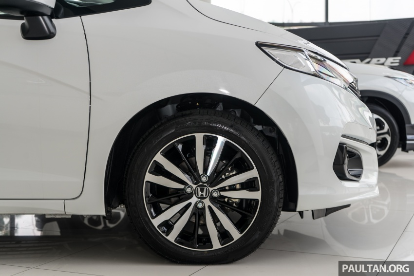 GALLERY: 2018 Honda Jazz, City, BR-V and HR-V in new Orchid White Pearl – replaces Taffeta White Image #802929