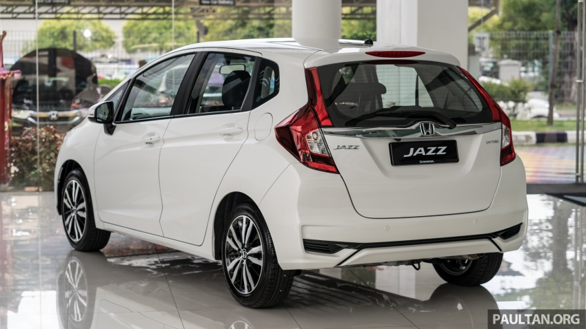 GALLERY: 2018 Honda Jazz, City, BR-V and HR-V in new Orchid White Pearl – replaces Taffeta White Image #802930