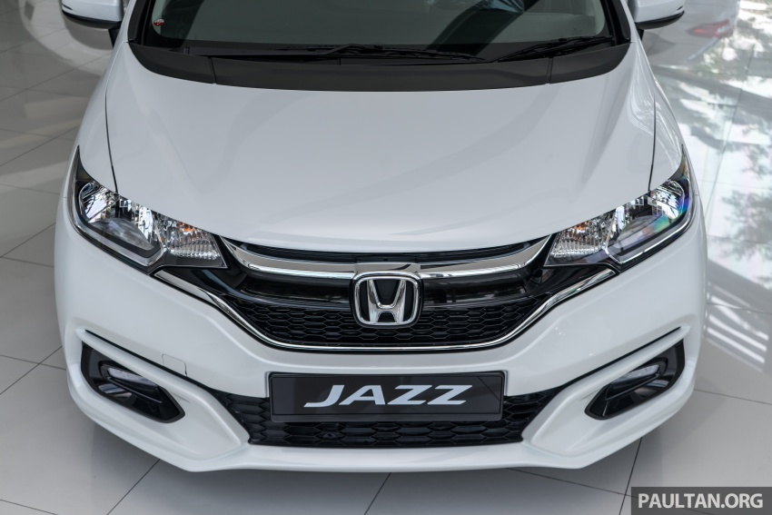 GALLERY: 2018 Honda Jazz, City, BR-V and HR-V in new Orchid White Pearl – replaces Taffeta White Image #802917