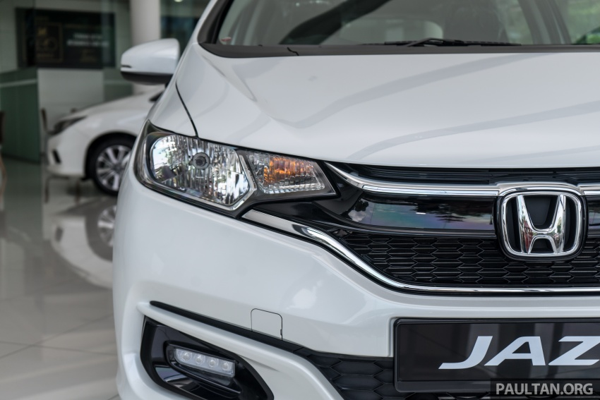 GALLERY: 2018 Honda Jazz, City, BR-V and HR-V in new Orchid White Pearl – replaces Taffeta White Image #802918