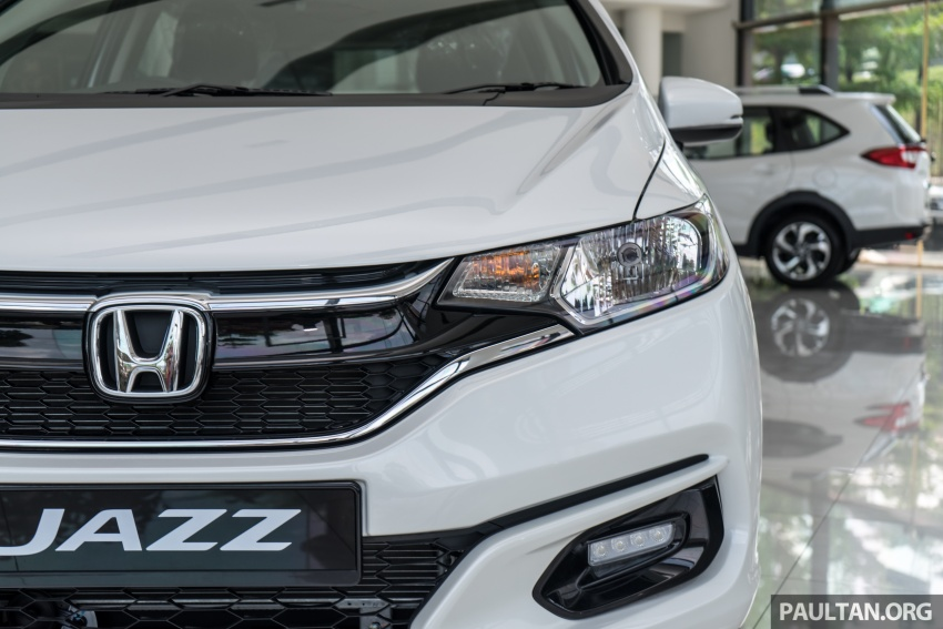 GALLERY: 2018 Honda Jazz, City, BR-V and HR-V in new Orchid White Pearl – replaces Taffeta White Image #802919