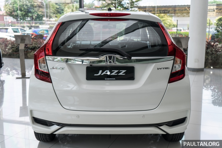 GALLERY: 2018 Honda Jazz, City, BR-V and HR-V in new Orchid White Pearl – replaces Taffeta White Image #802922