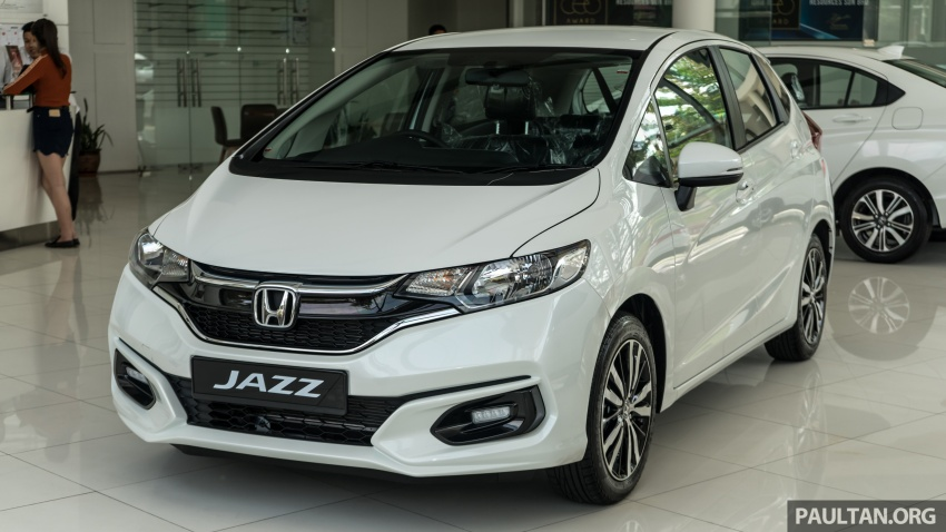 GALLERY: 2018 Honda Jazz, City, BR-V and HR-V in new Orchid White Pearl – replaces Taffeta White Image #802736
