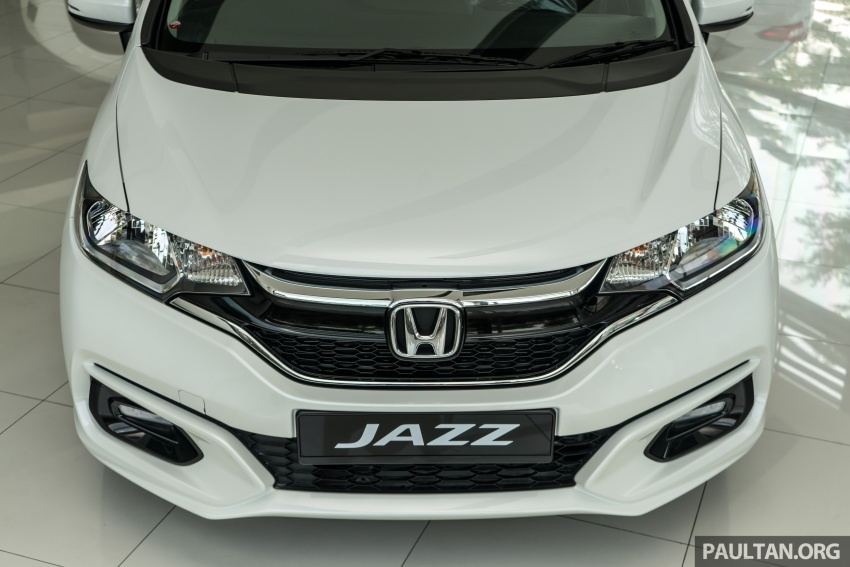 GALLERY: 2018 Honda Jazz, City, BR-V and HR-V in new Orchid White Pearl – replaces Taffeta White Image #802738
