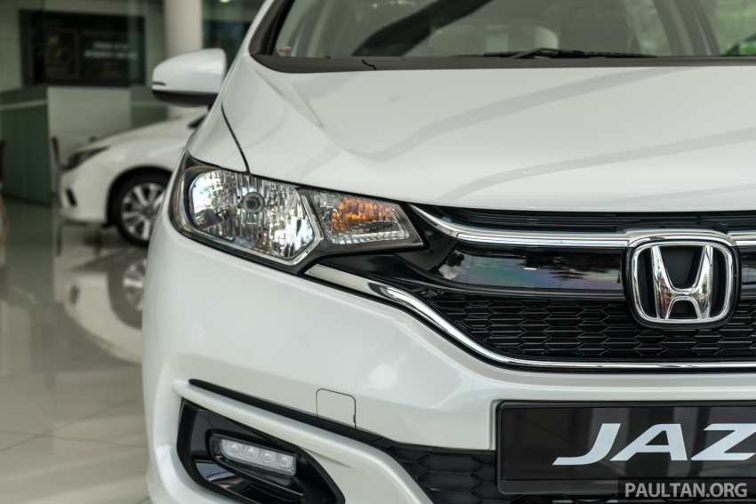 GALLERY: 2018 Honda Jazz, City, BR-V and HR-V in new Orchid White Pearl – replaces Taffeta White Image #802739
