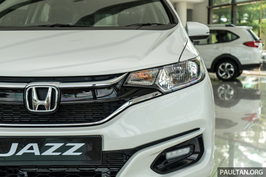GALLERY: 2018 Honda Jazz, City, BR-V and HR-V in new Orchid White Pearl – replaces Taffeta White Image #802740