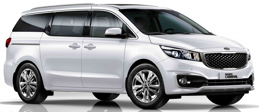 Kia Grand Carnival 2.2D SX now in Malaysia – RM189k Image #804092