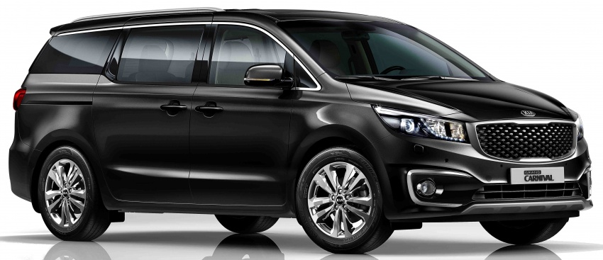 Kia Grand Carnival 2.2D SX now in Malaysia – RM189k Image #804087