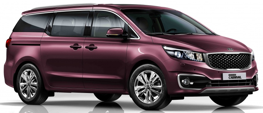Kia Grand Carnival 2.2D SX now in Malaysia – RM189k Image #804088