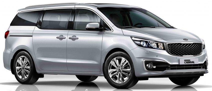 Kia Grand Carnival 2.2D SX now in Malaysia – RM189k Image #804090