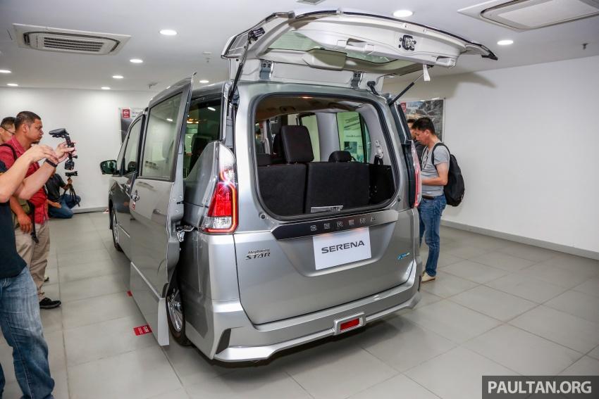 2018 Nissan Serena S-Hybrid full specs – Highway Star and Premium Highway Star, from under RM140k est Image #806325