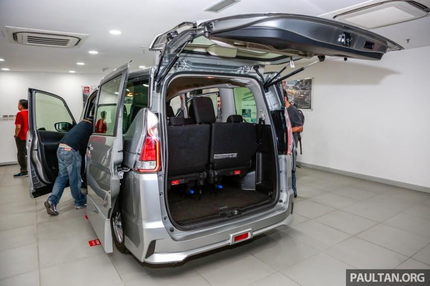 2018 Nissan Serena S-Hybrid full specs – Highway Star and Premium Highway Star, from under RM140k est Image #806326