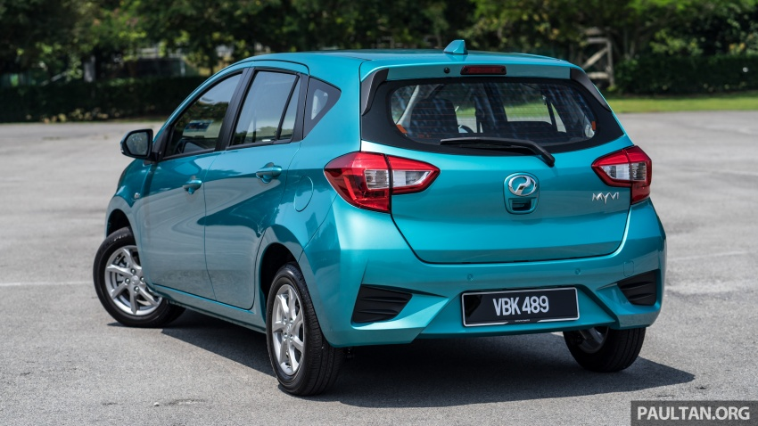 GALLERY: Perodua Myvi 1.3G and 1.3X – why wait? Image #802436