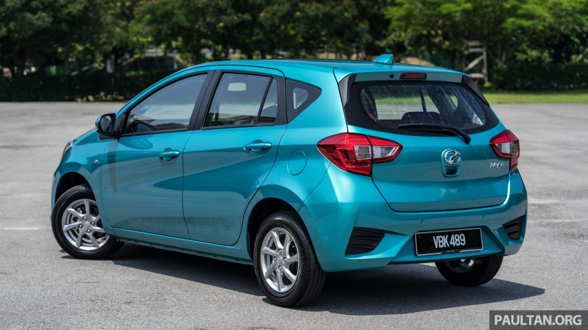 GALLERY: Perodua Myvi 1.3G and 1.3X – why wait? Image #802438