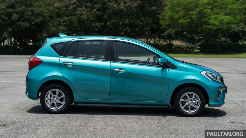 GALERI: Perodua Myvi 1.3G dan 1.3 Premium X – senarai spesifikasi tak jauh beza, harga lebih murah Image #803425