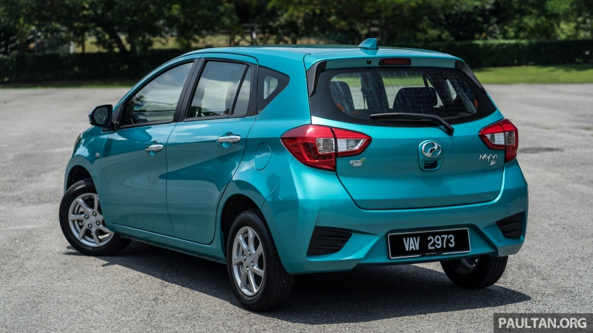 GALLERY: Perodua Myvi 1.3G and 1.3X – why wait? Image #802310
