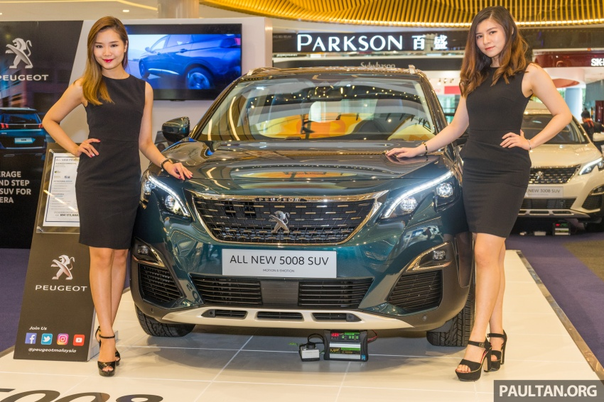 2018 Peugeot 5008 now open for booking – RM174k Image #805870