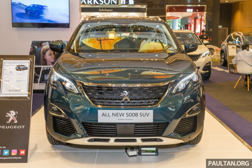 2018 Peugeot 5008 now open for booking – RM174k Image #805873