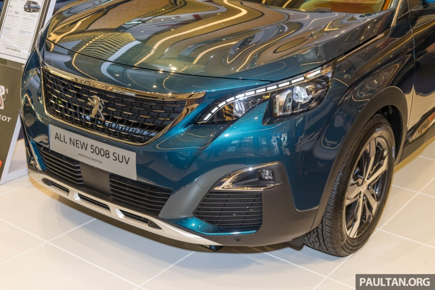 2018 Peugeot 5008 now open for booking – RM174k Image #805876