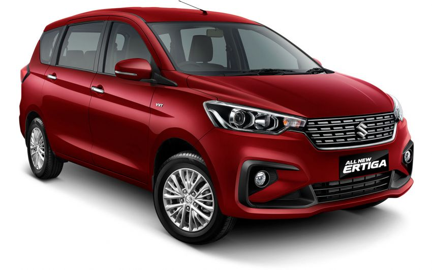 2018 Suzuki Ertiga launched in Indonesia with 108 PS 1.5 litre VVT engine, new Swift platform and ESP Image #809055