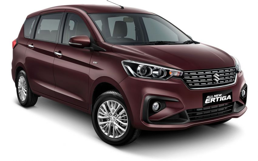 2018 Suzuki Ertiga launched in Indonesia with 108 PS 1.5 litre VVT engine, new Swift platform and ESP Image #809049