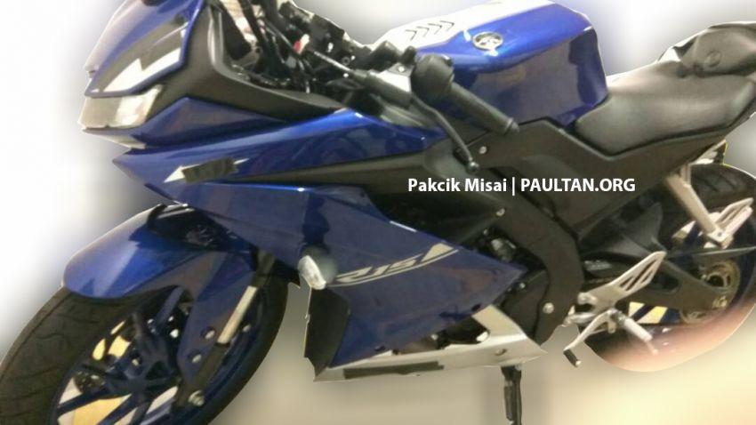 SPYSHOTS: Yamaha YZF-R15 coming to Malaysia? Image #809545