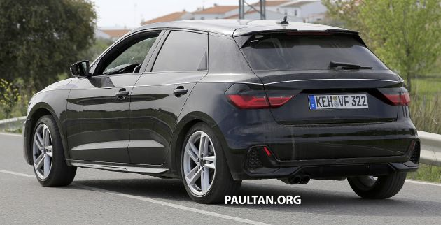 Spyshots 2019 Audi A1 Seen With Less Camouflage