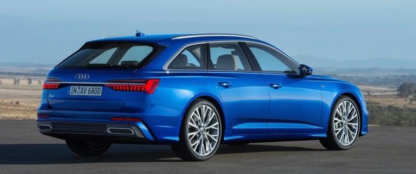 2019 Audi A6 Avant – handsome wagon hauls 1,680L Image #805104