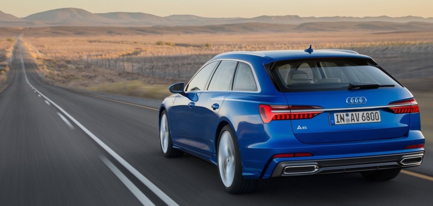 2019 Audi A6 Avant – handsome wagon hauls 1,680L Image #805116
