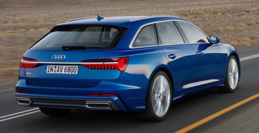 2019 Audi A6 Avant – handsome wagon hauls 1,680L Image #805118