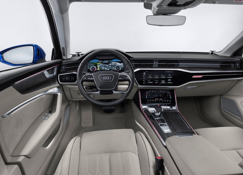 2019 Audi A6 Avant – handsome wagon hauls 1,680L Image #805121
