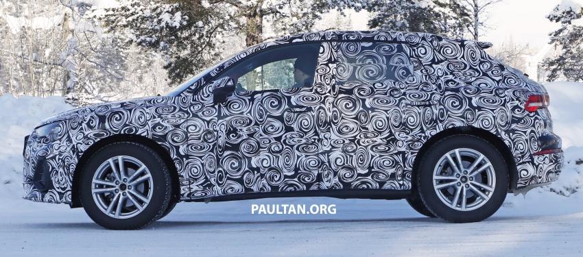 SPYSHOTS: 2019 Audi Q3 caught again, with interior Image #804250