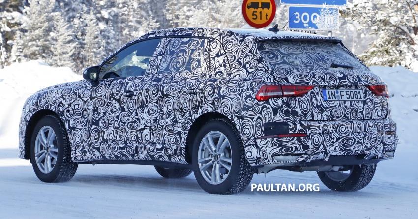 SPYSHOTS: 2019 Audi Q3 caught again, with interior Image #804252