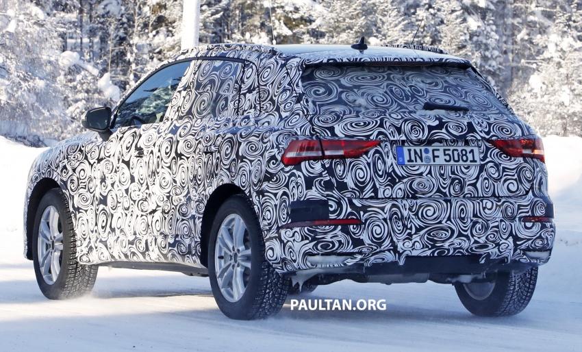 SPYSHOTS: 2019 Audi Q3 caught again, with interior Image #804254