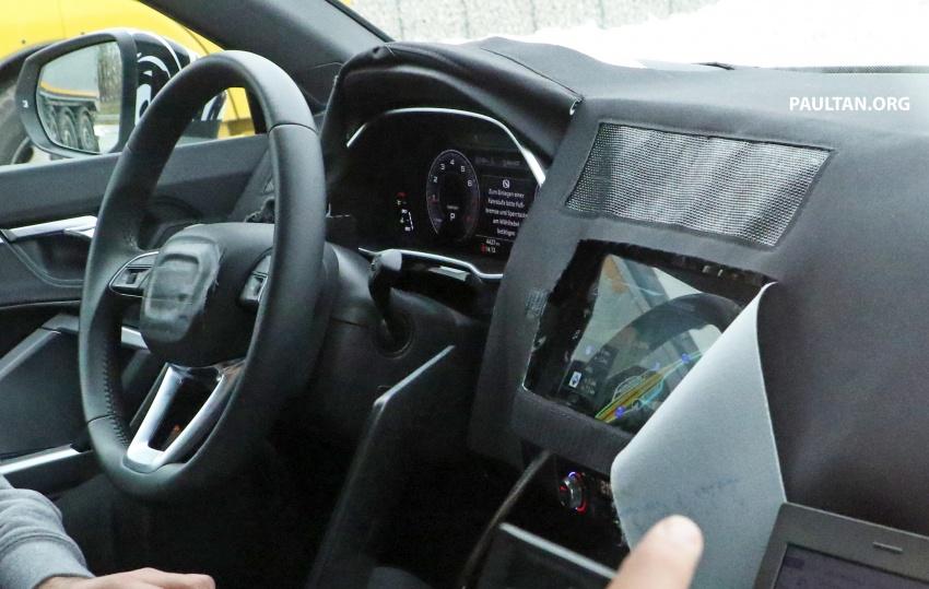 SPYSHOTS: 2019 Audi Q3 caught again, with interior Image #804241