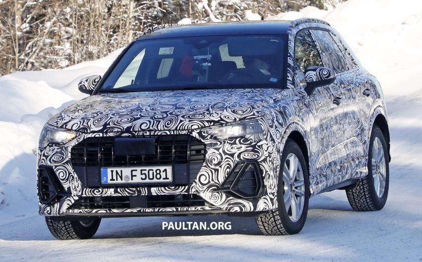 SPYSHOTS: 2019 Audi Q3 caught again, with interior Image #804246