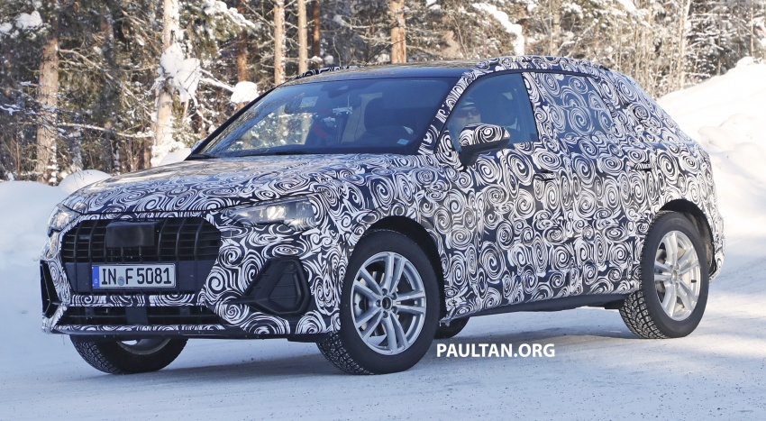 SPYSHOTS: 2019 Audi Q3 caught again, with interior Image #804247