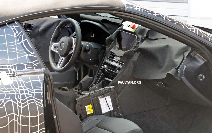 SPIED: BMW 8 Series cabrio – clearer interior photos! Image #810489