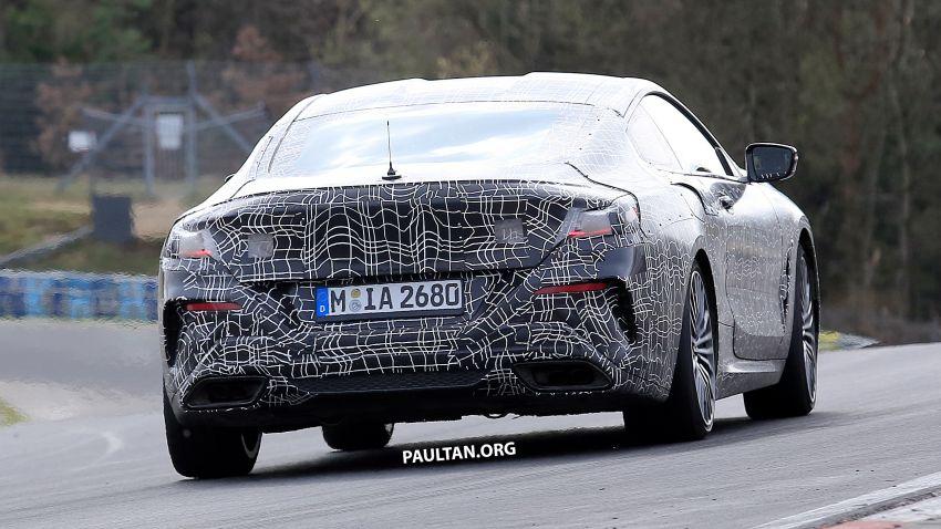 SPIED: BMW 8 Series cabrio – clearer interior photos! Image #810442
