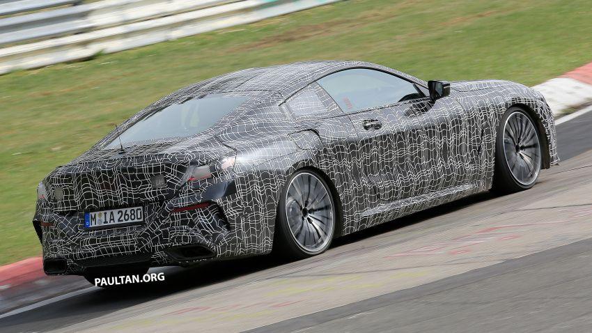 SPIED: BMW 8 Series cabrio – clearer interior photos! Image #810453