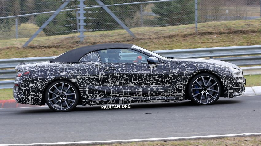 SPIED: BMW 8 Series cabrio – clearer interior photos! Image #810445
