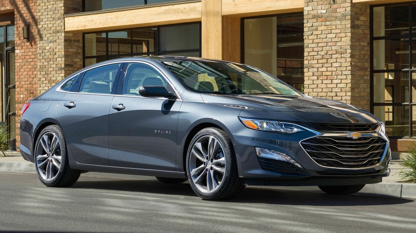 2019 Chevrolet Malibu facelift – new face and RS trim Image #803736