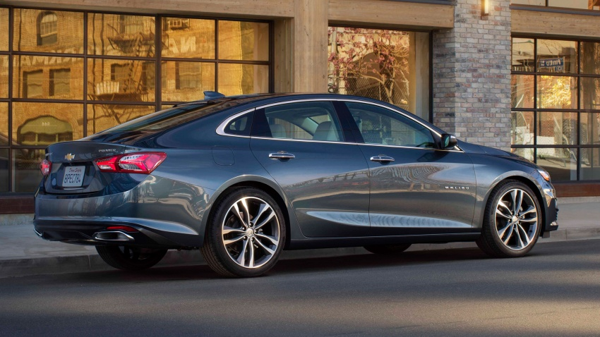 2019 Chevrolet Malibu facelift – new face and RS trim Image #803737