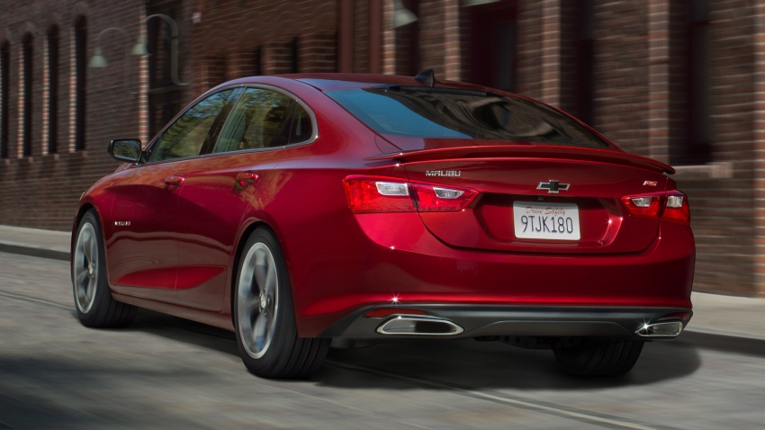 2019 Chevrolet Malibu facelift – new face and RS trim Image #803741
