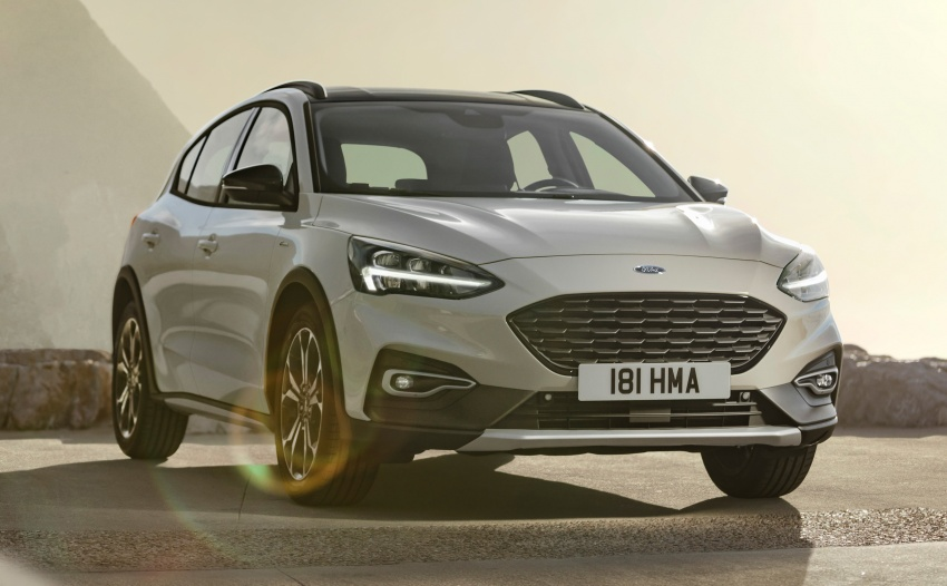 2019 Ford Focus Mk4 debuts – three body-styles, six trim levels, EcoBoost/EcoBlue engines, 8-speed auto Image #805031