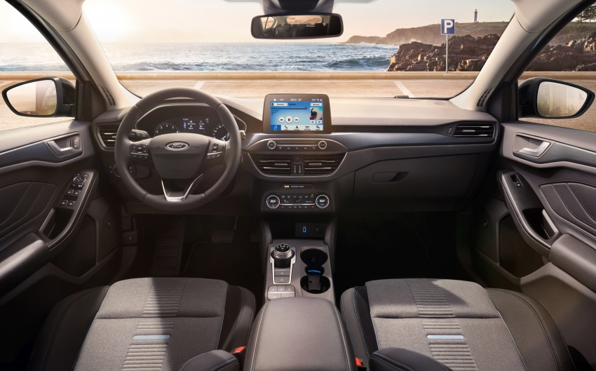 2019 Ford Focus Mk4 debuts – three body-styles, six trim levels, EcoBoost/EcoBlue engines, 8-speed auto Image #805042